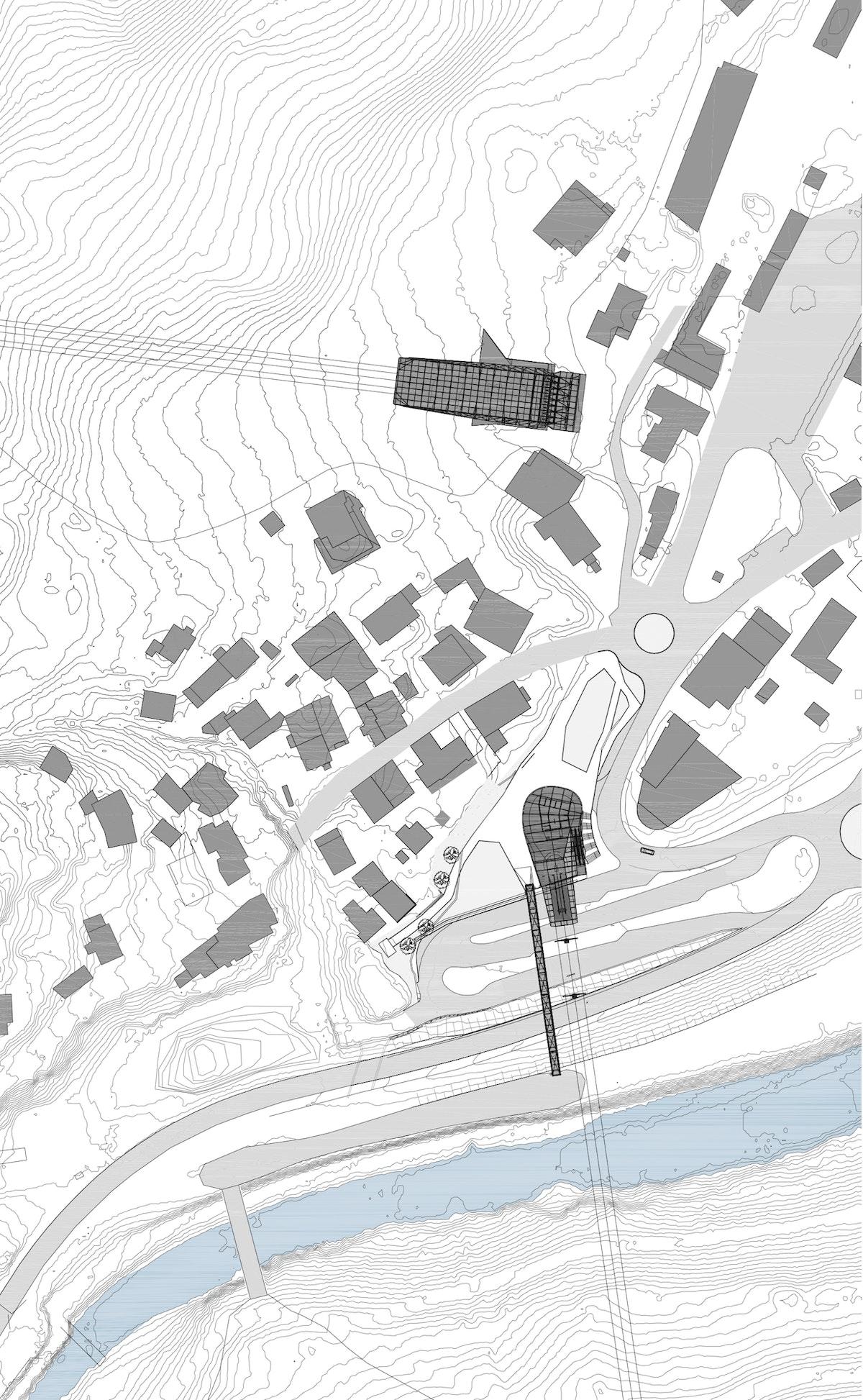 Rendl Galzig Siteplan Both 1 2000