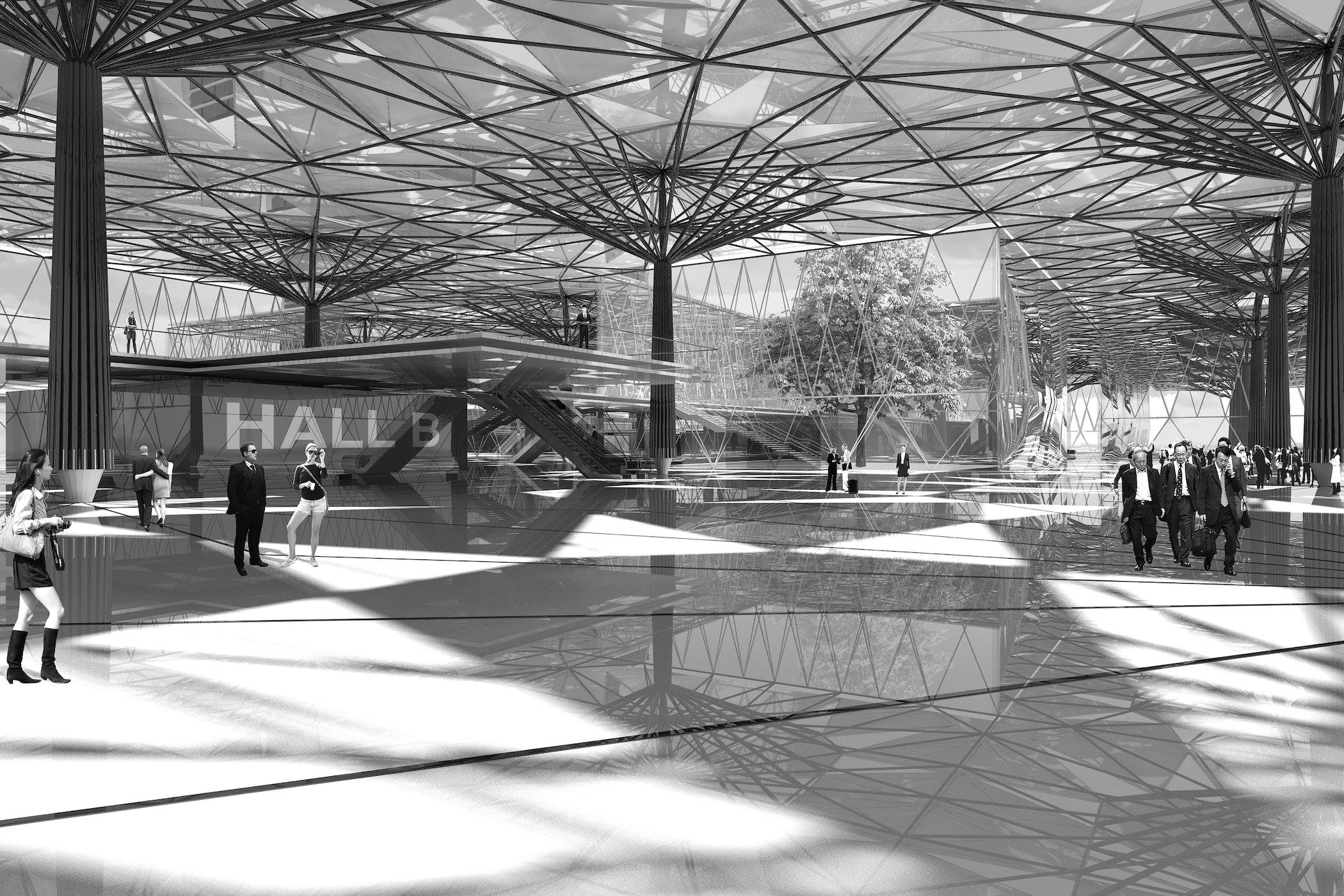 Nanjing K5 Exhibition Hall Gray