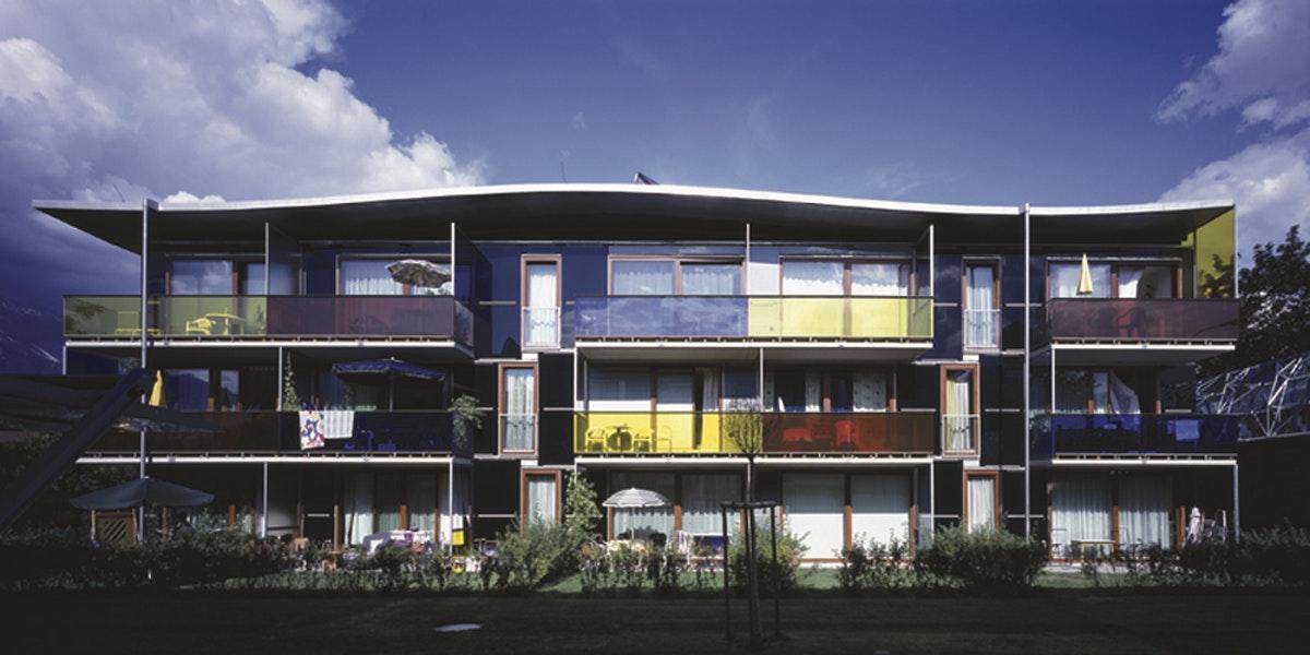 Wohnhaus Tisol Innsbruck Amraserseestr  Stadttor