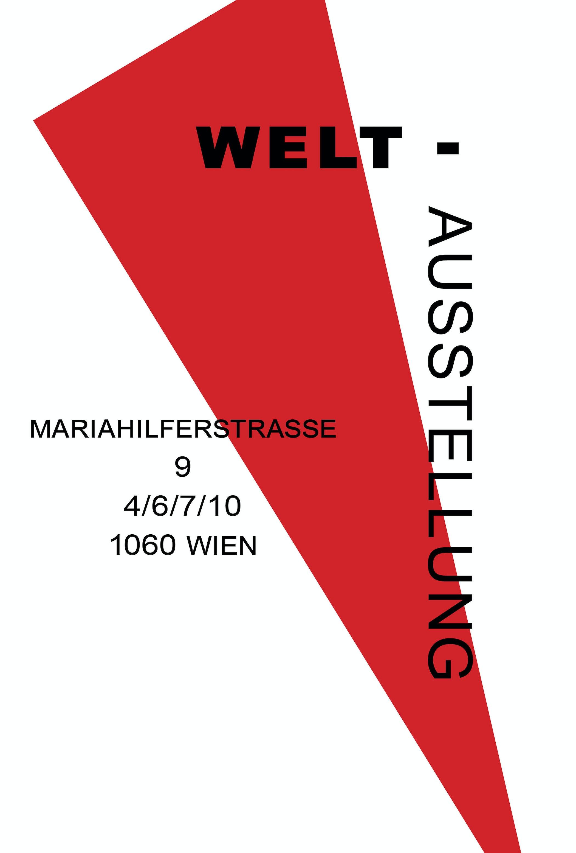Weltausstellung Flyer Email Vorne